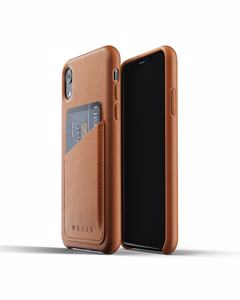 Full Leather Wallet Case For Iphone Xr - Tan