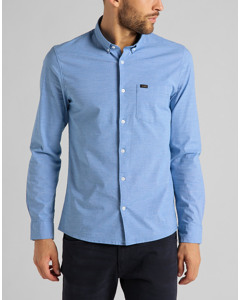 Slim Button Down Sterling Blue