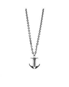 Anchor & Crew Mini Anchor Signature Silver Necklace Pendant