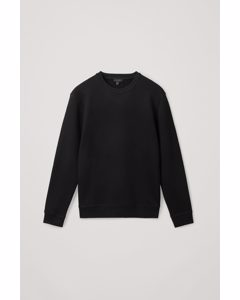Regular-fit Sweatshirt Black