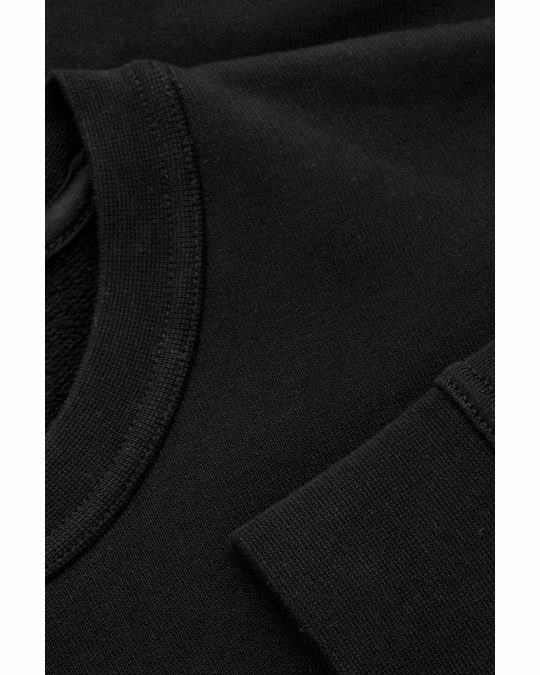 COS Regular-fit Sweatshirt Black