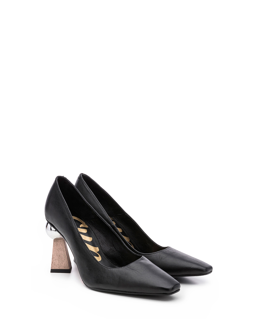 Cuple Leather Shoes Black shop 25 70% | Gratis