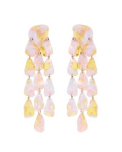 Abelone Earrings Pink