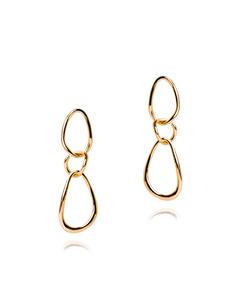 Valiant Earrings Gold