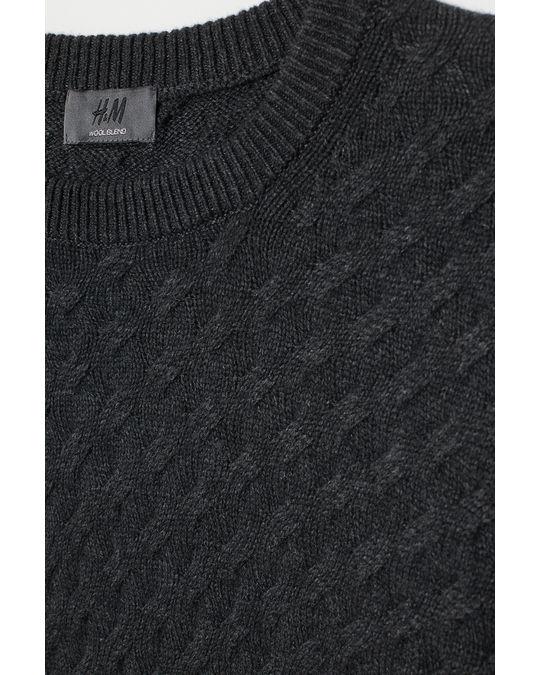H&M Noel Lambswool Sweater Black