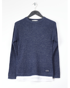Lucca Crewneck Sweater Blue