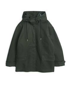 Hooded Parka Green