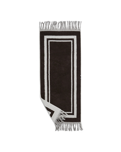 Valladolid Towel, Small Brown And Creme