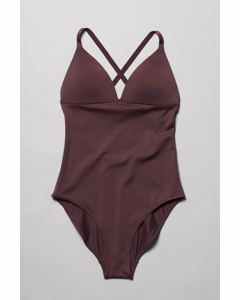 Gaze Swimsuit Burgundy