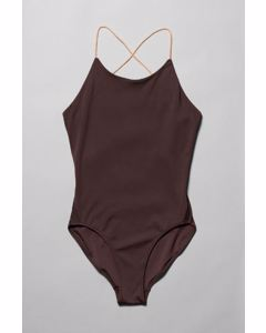 Aqua Swimsuit Burgundy