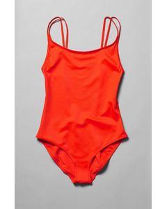 River Swimsuit Orange