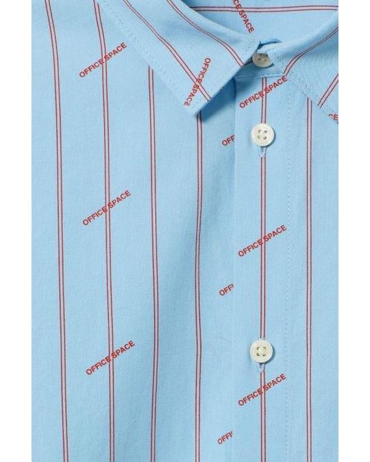 Weekday Balance Office Space Shirt Blue