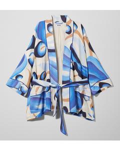 Elvina Kimono Blue