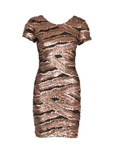 Zoe Dress Dusty Gold
