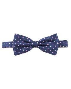 Dot Silk Bow-tie