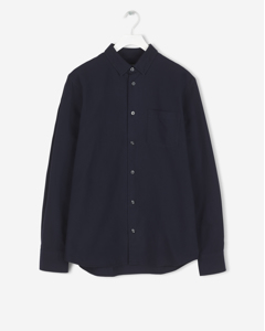 Tim Oxford Shirt Dark Navy