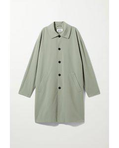 Daryl Structured Coat Light Khaki Green