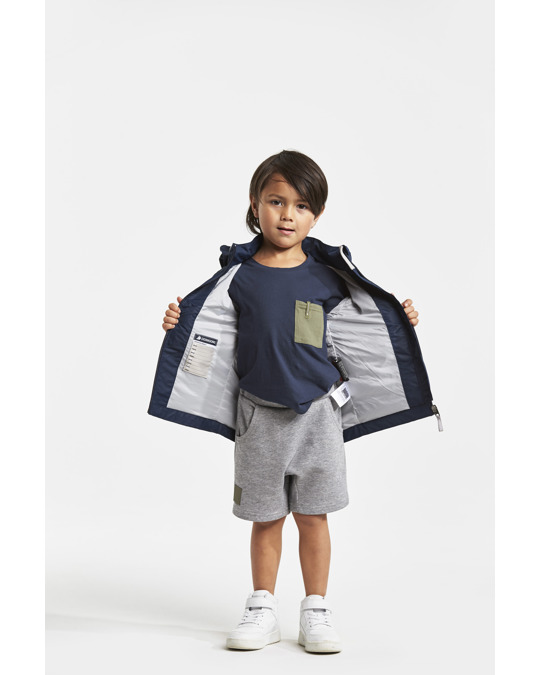 Didriksons Skatan Kids Jkt      Navy