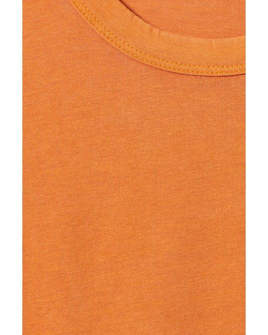 Weekday Anton Washed T-shirt Orange