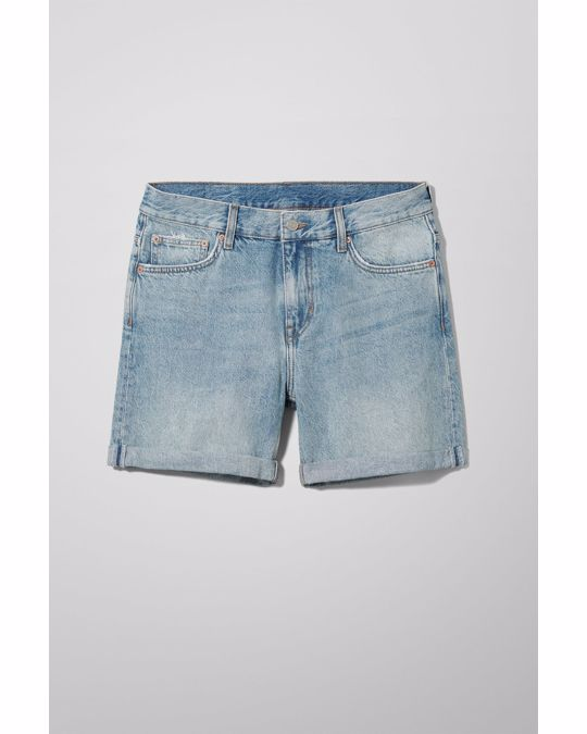Weekday Beach Day Week Blue Shorts Blue