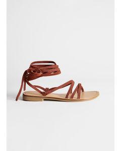 P Puget sandaal oranje