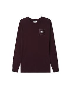 Han Long Sleeve Burgundy
