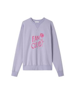Flora Sweatshirt Light Purple