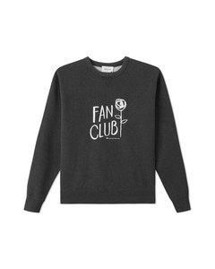 Flora Sweatshirt Dark Grey Melange