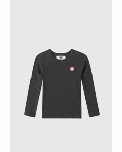 Kim Kids Long Sleeve Dark Grey Melange