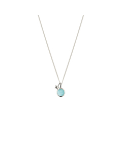Priscilla Necklace Silver Amazonite