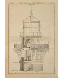 Cape Hatteras Lighthouse (n.c.) 1869