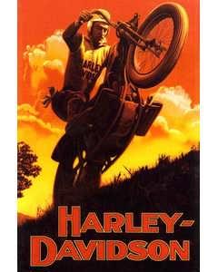 Harley-davidson Vintage Poster