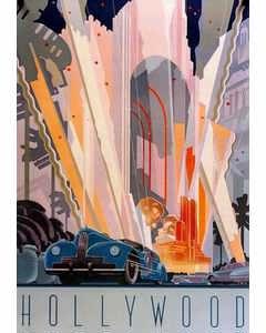 Vintage Hollywood Poster