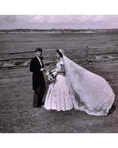 Bouvier-kennedy Wedding Portrait.1953