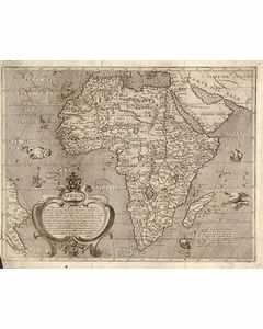 Karta Afrika Arnoldi, Arnoldo Di 1602