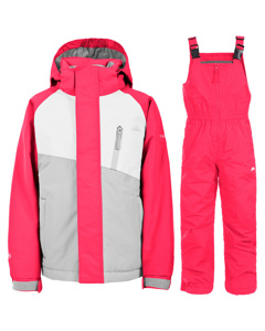 Trespass Childrens/kids Crawley Ski/snow Set