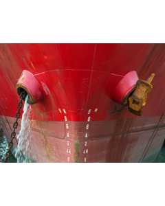 The Bow Of A Large Ship