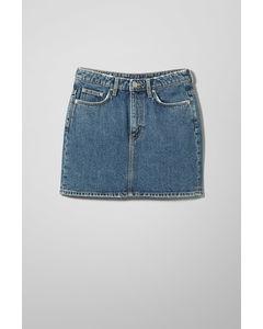 Wend Standard Blue Denim Skirt Steel Blue