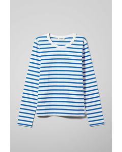 Kate Striped Long Sleeve Blue