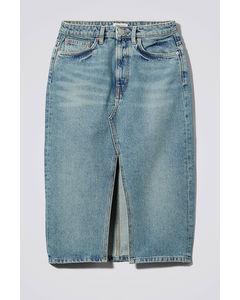 Wynn Denim Skirt San Fran Blue