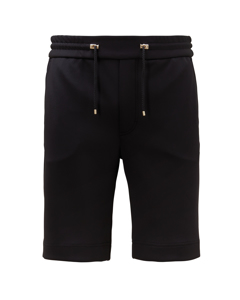 Giano Lux Scuba Track Shorts In Black