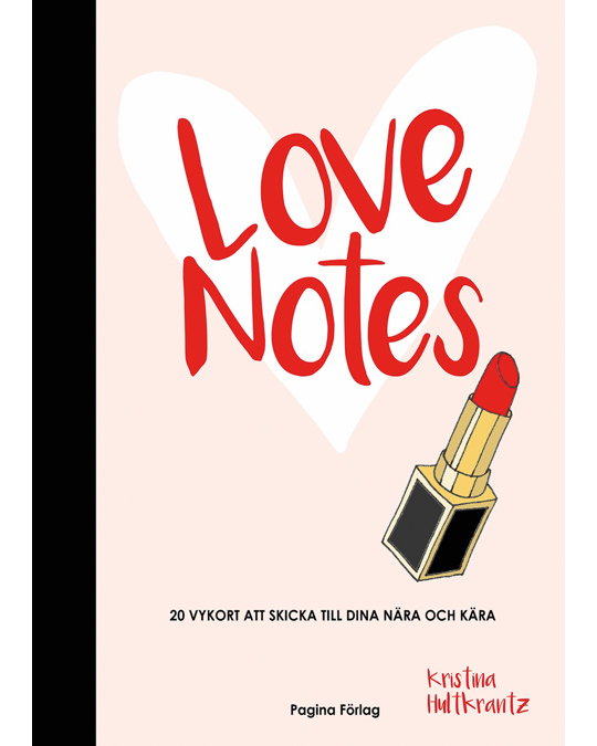 Printworks Love Notes - Book With 20 Greeting Cards White