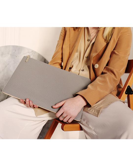 Printworks Laptop Case (grey/beige) - 10 - 12 Inch Grey
