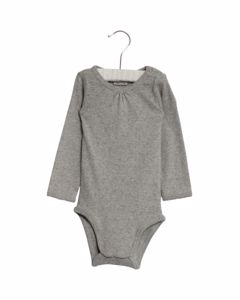 Body Frill Ls 0224 Melange Grey