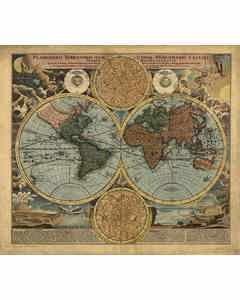 Karta Världen