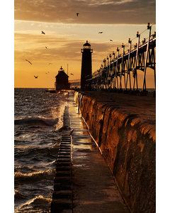 Lighthouse And Pir
