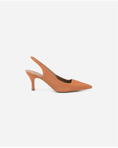 Franchesca Orange Suede