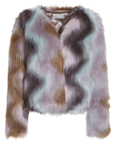 Multi Fur Jacket Multi