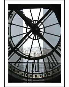 Clock At The Musee D Orsay, Paris