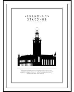 Stockholms Stadshus, Svartvit